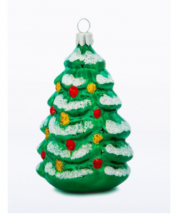 Christmas Tree glass Christmas ornament