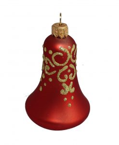 Glass christmas bell Veil ed