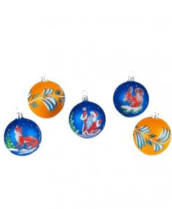 Sets of Christmas Ornaments
