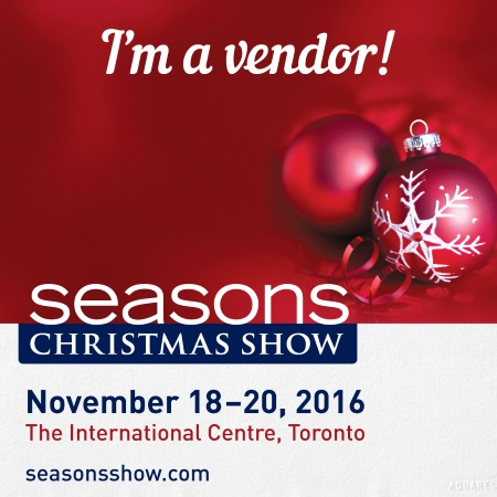 Seasons Christmas show. Come visit us, Glass Christas Ornaments by Christmas Ornament